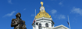 New Hampshire State House, Concord, New Hampshire, USA.